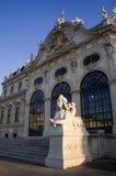 Vienna - sphinx per il palazzo di belvedere Fotografie Stock Libere da Diritti