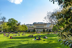 Vienna in the spring sunny day, Austria Royalty Free Stock Photo