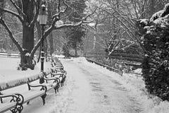 Vienna - Stadtpark in winter Stock Image