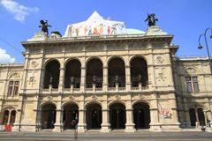 The Vienna State Opera Royalty Free Stock Photography