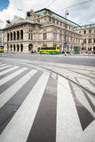 The Vienna State Opera Building in Austria. Stock Images