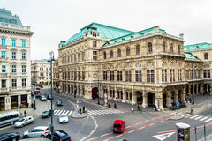 Vienna State Opera during the day Royalty Free Stock Images