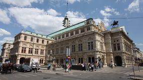 Vienna State Opera Royalty Free Stock Images