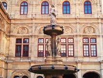Vienna State Opera Stock Photography