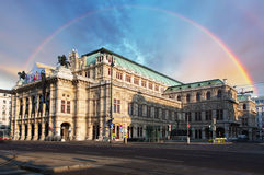 Vienna State Opera House (Staatsoper), Austria Royalty Free Stock Image