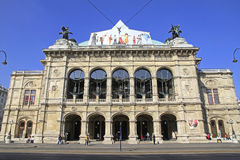 Vienna State Opera House (Staatsoper) in Vienna Royalty Free Stock Photos