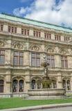 Vienna State Opera House Statues (Wiener Staatsoper) - Vienna Royalty Free Stock Photo