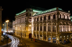 The Vienna State Opera House royalty free stock photography
