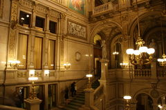 Vienna State Opera - interior Royalty Free Stock Images