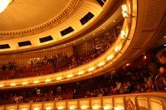Vienna State Opera - interior Royalty Free Stock Photos
