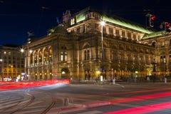 Vienna state opera Royalty Free Stock Image