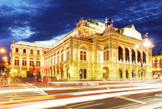 Vienna state opera Stock Images