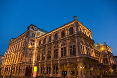 Vienna State Opera Royalty Free Stock Photos