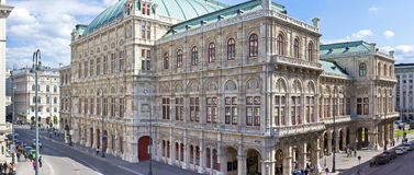 The Vienna State Opera royalty free stock image