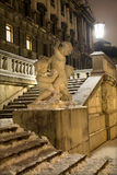 Vienna - statirs and mythology statue Stock Image