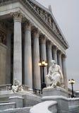 Vienna - statua di Thucydides del filosofo immagine stock libera da diritti