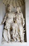 Vienna - statue of Virtue in the Michaelatraktes Stock Photo