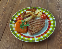 Vienna Steaks Royalty Free Stock Image