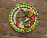 Vienna Steaks Stock Photo