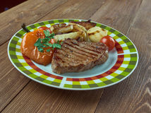 Vienna Steaks Royalty Free Stock Photo