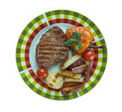 Vienna Steaks Royalty Free Stock Images