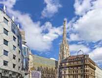 The Vienna Stephansdom Stock Image
