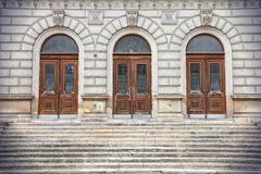 Vienna Stock Exchange Royalty Free Stock Images