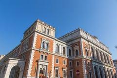 Vienna Stock Exchange. Building ( Wiener Borse) in Austria Stock Image