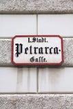 Vienna street Stock Image