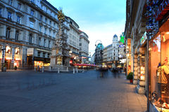 Vienna Street,Austria Royalty Free Stock Images