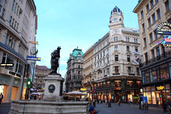 Vienna Street,Austria Stock Photos