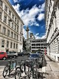 Vienna street royalty free stock photography