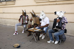 Vienna Street Music Royalty Free Stock Photography