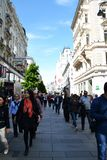Street of Vienna Royalty Free Stock Photos