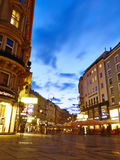 Vienna Street View Royalty Free Stock Photography
