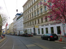 Vienna streets Royalty Free Stock Image
