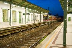 Vienna Subway station Stock Image