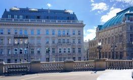 Vienna at sunny day. Austria Stock Photo