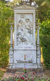 Vienna - Tomb of composer Franz Schubert on the Centralfriedhoff cemetery Stock Photos