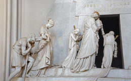Vienna - Tomb of Marie Christine daughter of Maria Theresia Royalty Free Stock Photo