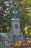 Vienna - Tombs of composer W. A. Mozart on the Centralfriedhoff cemetery. Stock Photo