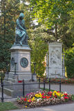 Vienna - Tombs of composers W. A. Mozart and Franz Schubert Royalty Free Stock Photos
