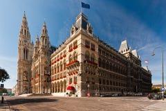 Vienna town hall stock photography