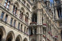 Vienna town hall Stock Photo