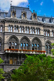 Vienna town hall Stock Image