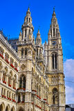 Vienna town hall Royalty Free Stock Photos