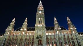 Vienna Town Hall Stock Photos