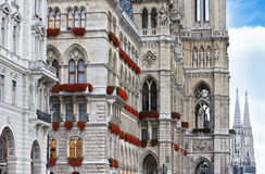 Vienna Town Hall Royalty Free Stock Images