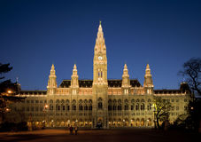 Vienna, Townhall Stock Images