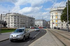 Vienna traffic Royalty Free Stock Images